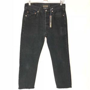 NWT Levi's 501 Icons Star Jeans High Waist 32